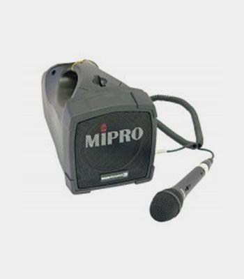 Verstärkeranlage inkl. kabelgebundenes Mikrofon